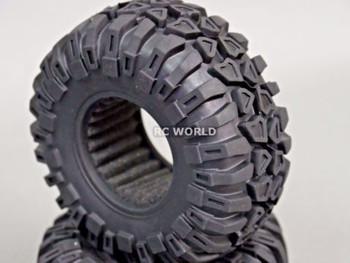 "2.2 Tires Rock CRAWLER TIRES Wheels 130mm 5.1"" W/ Foam Inserts -Set Of 4-"