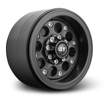 1/10 Gmade  2.2 Beadlock  Wheels GT02 (2 RIMS) Black  #gm70234