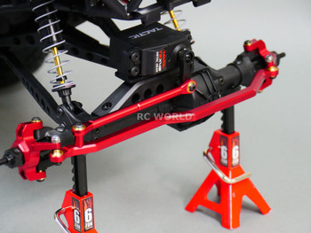 Axial Wraith Red Steering Arm W/ Knuckles.