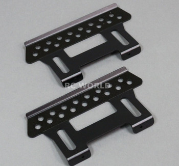 Axial SCX10 Jeep Honcho All METAL SIDE GUARDS SKIDS Heavy Duty