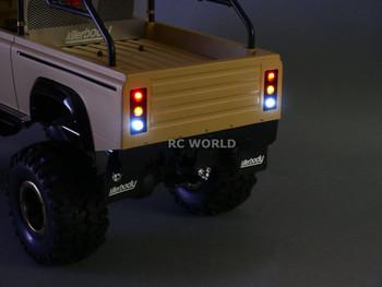 RC 1/10 Truck Body Shell MARAUDER Rock Crawler  - BLUE-