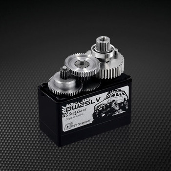 WATERPROOF HighTorque METAL  Gear CORELESS SERVO 25KG For ROCK CRAWLER + HORN