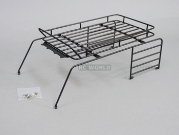 RC Scale JEEP Body Shell METAL CAGE ROOF RACK For  Wrangler Rubicon Hard Body