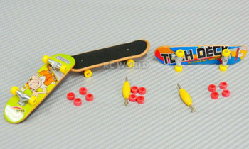 RC 1/10 Scale Accessories SKATEBOARD SET Finger Toy