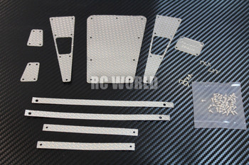 1/10 scale Diamond Plate Metal trim for Land rover d90