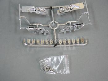 1/10 RC  Car LIGHT BUCKETS For NISSAN S15 Chrome Plated