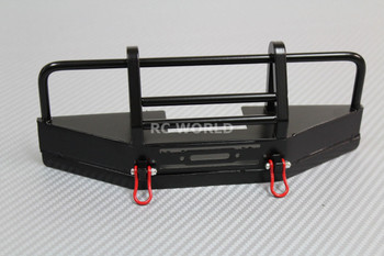 RC 1/10 Land Rover Defender Safari Metal Bumper