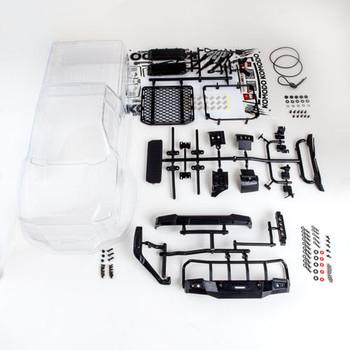RC 1/10 Truck Body KOMODO Pick Up Body Shell *CLEAR* #gm40070