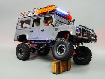 Axial SCX10 Jeep Honcho METAL PiggyBack SUSPENSION SHOCKS 120 MM BLUE/ GOLD 4 pcs