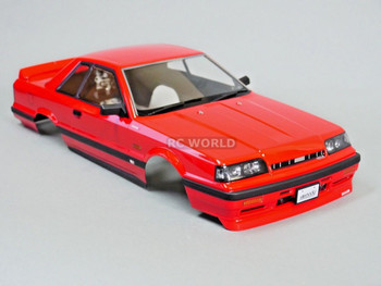 1/10 RC Car BODY Shell NISSAN SKYLINE R31 190 mm *FINISHED* RED