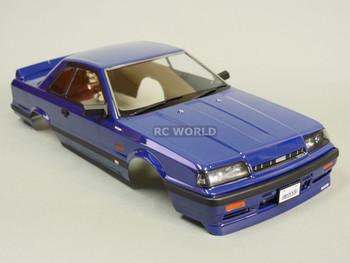 1/10 RC Car BODY Shell NISSAN SKYLINE R31 190 mm *FINISHED* BLUE