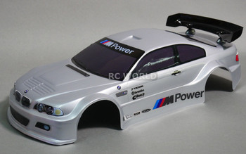 1/10 RC BMW E46 M3 RC Car BODY Shell 200 mm *Painted*