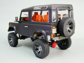 RC 1/10 Land Rover DEFENDER 90 Rock Crawler 4X4 BLACK 8.4V *RTR*