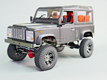 RC 1/10 Land Rover DEFENDER 90 Rock Crawler 4X4 BLACK 8.4V *RTR*