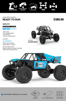 GMADE RC 1/10 Rock Buggy GOM GR01