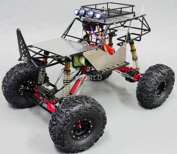 Custom AXIAL All METAL ROCK CRAWLER Bomber Wraith 2.2 Crawler 8.4V *RTR*