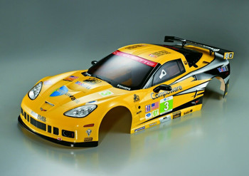 1/7 Traxxas XO-1 RC CHEVY CORVETTE w/Light Buckets