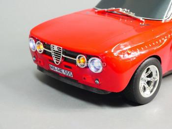 Custom Tamiya 1/10 RC ALFA ROMEO GT am w/ L.E.D Lights -RTR-