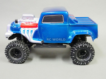 For Traxxas TRX-4 BODY SHELL 1/10 Monster HOT ROD WARRIOR -PAINTED- BLUE