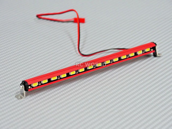 Traxxas TRX-4 LED LIGHT BAR Extremely BRIGHT Metal Housing ROOF Light RED