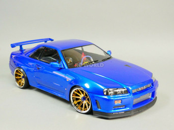 RC 1/10 Drift NISSAN SKYLINE R34 AWD DRIFT