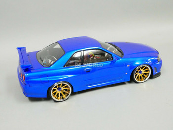 RC drift nissan skyline