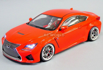 Custom RC 1/10 Drift LEXUS RCF AWD DRIFT Car RTR W/ LED Red