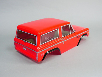 Rc Truck BODY SHELL 1/10 FORD BRONCO 252mm For Tamiya CC01 -RED