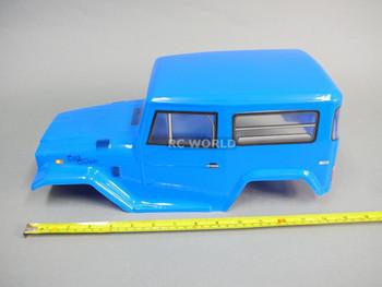 Rc Truck BODY SHELL 1/10 TOYOTA FJ40 Land Cruiser 252mm For Tamiya CC01 -BLUE
