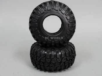 RC 1/10 Truck TIRES 130MM KNOBBY TIRES W/ Foam 2.2 BEADLOCK Rock Crawler (4PCS)