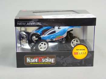 RC 1/52 Radio Control RC Micro Mini BUGGY Off-Road w/ LED Lights YELLOW