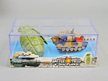 RC Micro TANK Mini Radio Control GERMAN LEOPARD 2A6 TANK W/ Sounds 2.4GHz -a