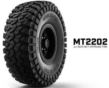 Gmade 1/10 TRUCK 2.2 TIRES 143mm Rock Crawler Tire MT2202 #gm70524