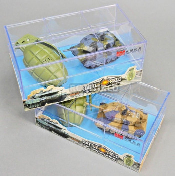 RC Micro TANKS Mini Radio Control GERMAN LEOPARD 2A6 TANKS W/ Sounds 2.4GHz -SET