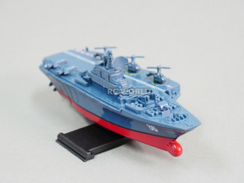 Remote Control RC Micro Boats AIRCRAFT CARRIER Navy Ships 2.4GHz -BLUE + GRAY