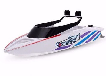 Radio Control RC RACE BOAT Dual Prop RC BOAT -Ready To Run - WHITE