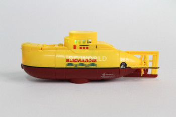 RC Micro SUBMARINE Mini Rc U-Boat 3- Channel Radio Control SUBMARINE -BLUE-