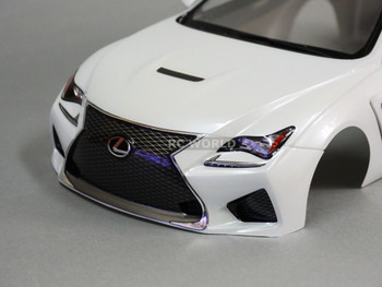 1/10 RC Car BODY Shell LEXUS RC F 190mm *FINISHED* PEARL WHITE