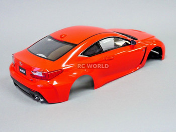 1/10 RC Car BODY Shell LEXUS RC F 190mm *FINISHED* RED