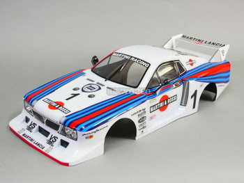 1/10 RC Car BODY Shell LANCIA BETA MONTE CARLO Martini Racing 190mm *FINISHED