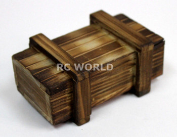 RC 1/10 Scale Accessories Real Wood Chest