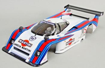 1/12 RC Car BODY Shell LANCIA LC2 Martini Racing *FINISHED
