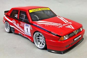 rc 1/10 Alfa Romeo 75 Turbo Body Shell