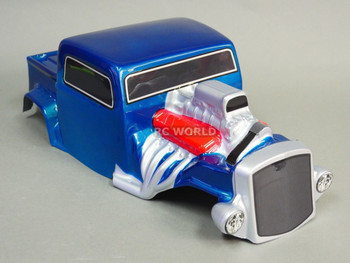 Axial SCX10 BODY SHELL 1/10 Monster HOT ROD Rock Crawler 313mm -PAINTED Blue