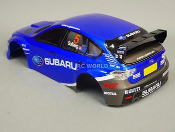 1/10 RC Car BODY Shell SUBARU STI Rally Solberg 190mm *FINISHED*