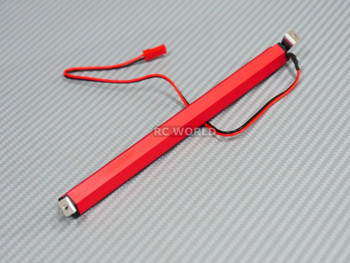 RC Scale Accessories CREE LED LIGHT BAR With Metal Housing RED