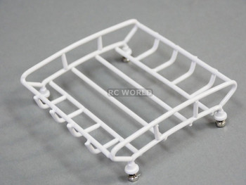 RC Scale Accessories All Metal WHITE ROOF RACK