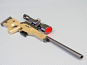 "1/6 Scale Accessories SNIPER RIFLE GUN Metal Gun Model 11"" LONG"