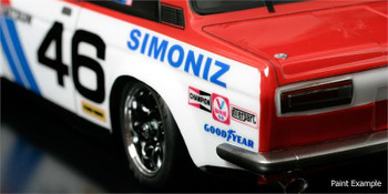 1/12 RC Car Body Shell ABC HOBBY DATSUN BRE 510 #46 BODY SHELL