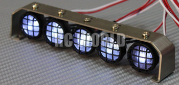 RC Scale Accessories  Metal LED Light Bar